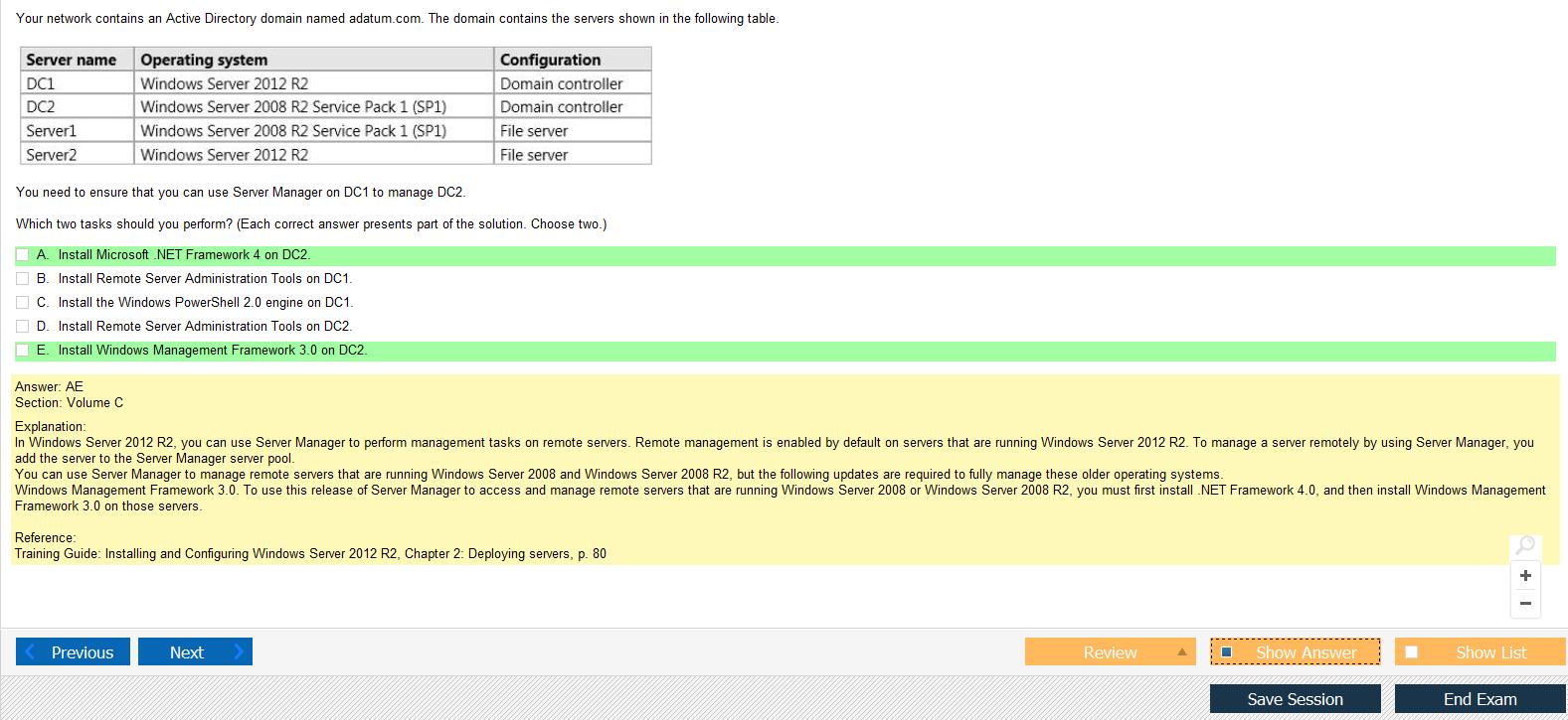 Mcsa exam 70 410 installing and configuring windows server 2012 exam 70 410 pic 3 xflitez Images