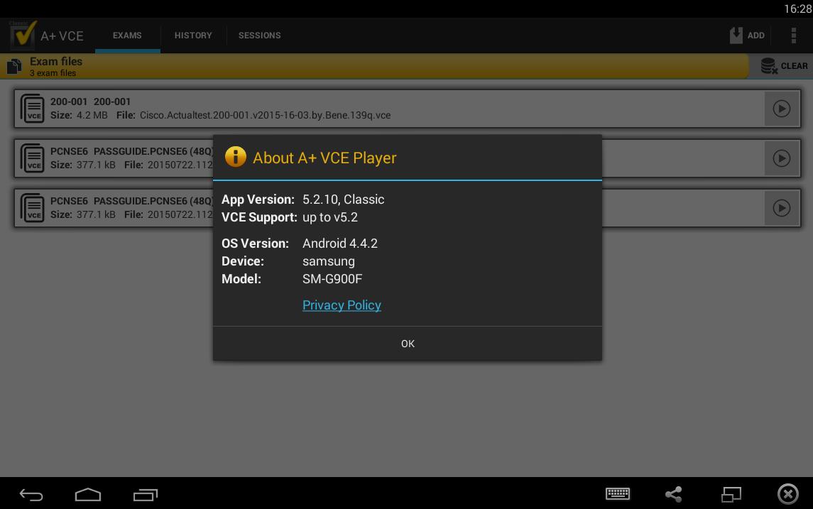 A+ VCE 5.2.10