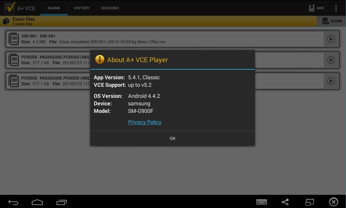 A+ VCE 5.4.1