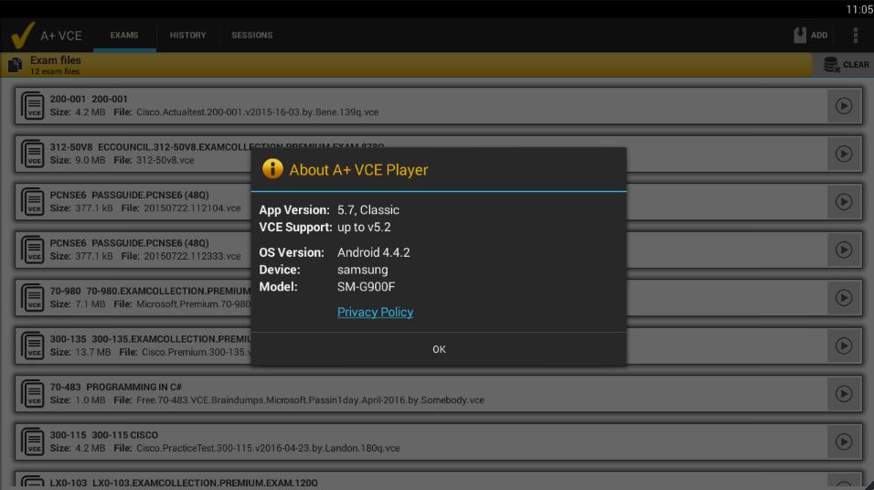 A+ VCE 5.7.1