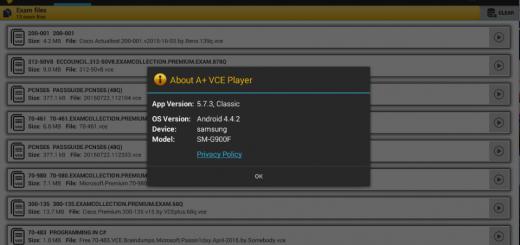 A+ VCE 5.7.3