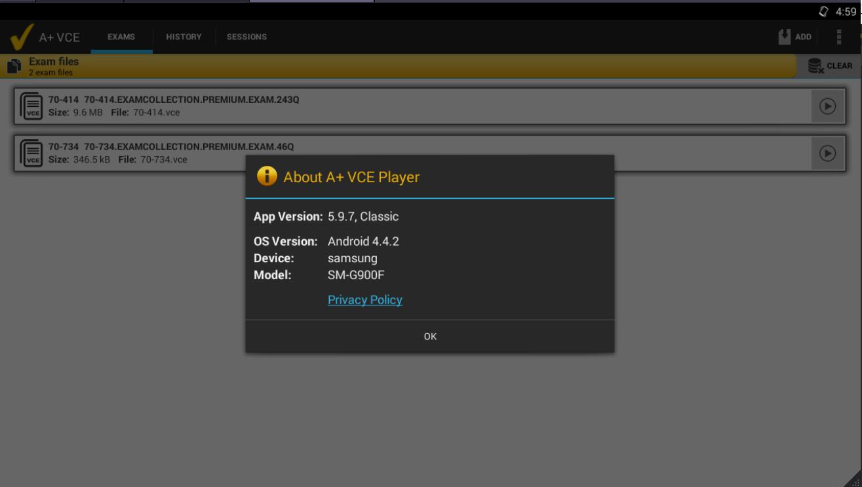 open vce files