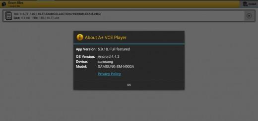 a+ vce 5.9.18