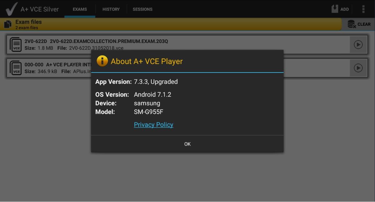 vce exam simulator pro 2.5.1